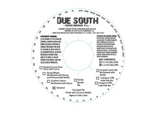 Due South Brewing Co One Eyed Tiki