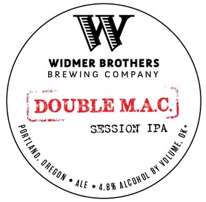 Widmer Brothers Brewing Company Double M.a.c.
