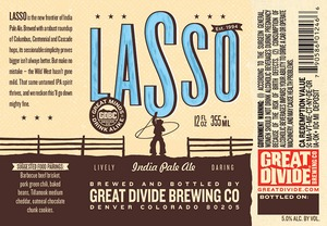 Great Divide Brewing Company Lasso