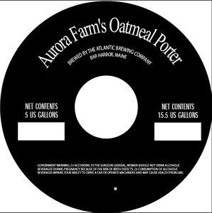 Aurora Farm's Oatmeal Porter