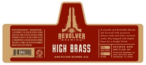 Revolver Brewing High Brass