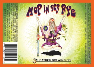 Saugatuck Brewing Company Hop In Yer Rye