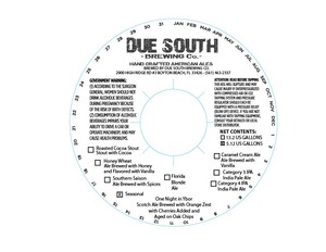 Due South Brewing Co One Night In Ybor