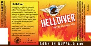 Flying Bison Brewing Company. Helldiver
