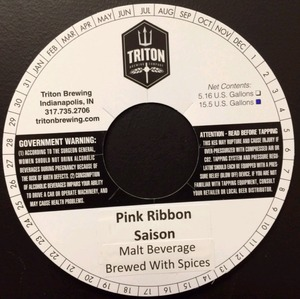 Triton Brewing Pink Ribbon Saison