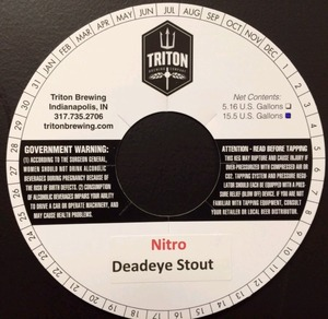 Triton Brewing Nitro Deadeye