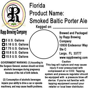 Rapp Brewing Company Smoked Baltic