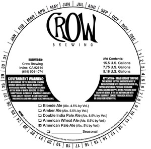Crow Brewing American Pale