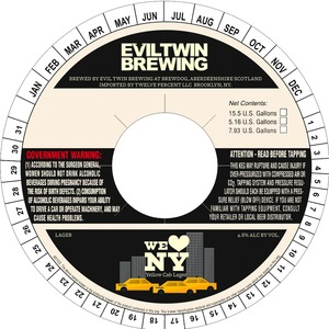 Evil Twin Brewing Yellow Cab