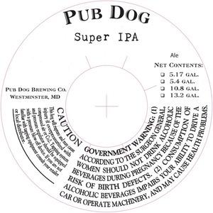 Pub Dog Super IPA