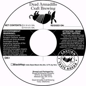 Dead Armadillo Craft Brewing Blackhop
