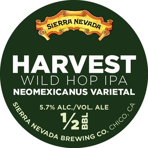 Sierra Nevada Harvest Wild Hop IPA