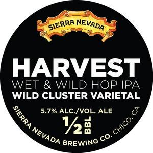 Sierra Nevada Harvest Wet & Wild Hop IPA