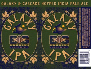 Big Muddy Brewing Galaxy IPA