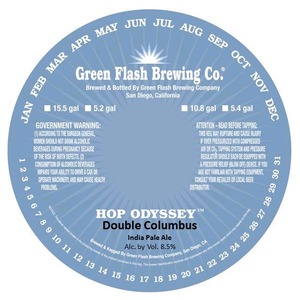 Green Flash Brewing Company Double Columbus
