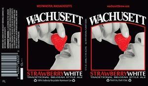 Wachusett Brewing Company Wachusett Strawberry White
