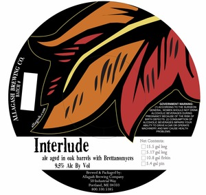 Allagash Brewing Company Interude