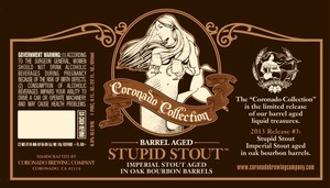 Coronado Brewing Company Barrel Aged Stupid Stout