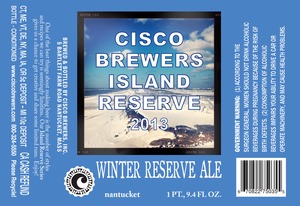 Cisco Brewers Winter Reserve