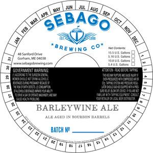 Sebago Brewing Company Barleywine Ale