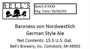 Bell's Baroness Von Nordwestlich German Style