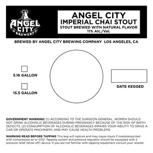 Angel City Brewery Imperial Chai