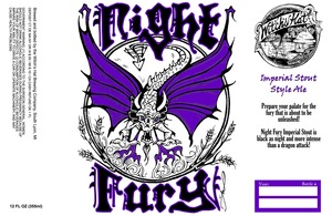 Witch's Hat Brewing Company Night Fury