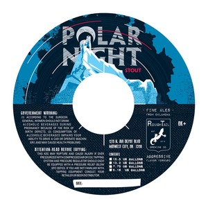Roughtail Brewing Company Polar Night Stout