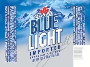 Labatt Blue Light December 2013