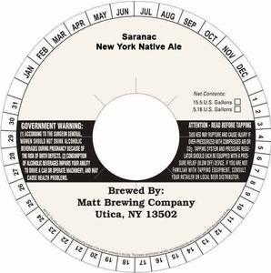 Saranac New York Native Ale