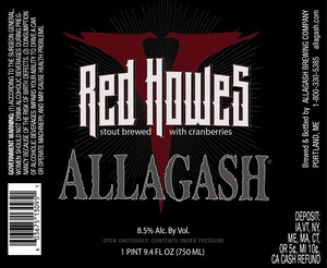 Allagash Brewing Company Red Howes