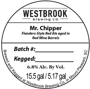 Westbrook Brewing Company Mr. Chipper