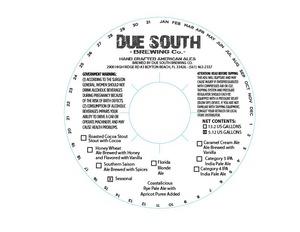 Due South Brewing Co. Coastalicious