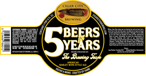 5 Beers For 5 Years December 2013