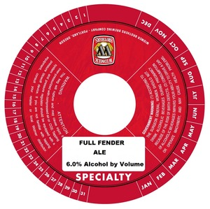 Widmer Brothers Brewing Company Full Fender December 2013
