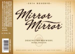 Deschutes Brewery Mirror Mirror
