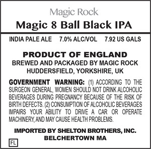 Magic Rock Magic Eight Ball Black IPA