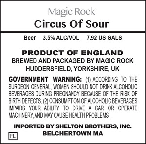 Magic Rock Circus Of Sour