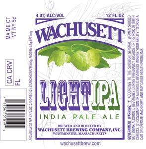 Wachusett Brewing Company Wachusett Light IPA