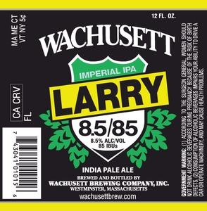 Wachusett Brewing Company Wachusett Larry Imperial IPA