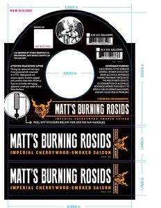 Stone Brewing Co Matt's Burning Rosids