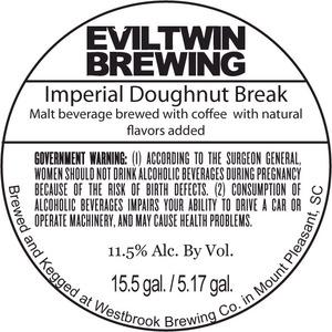 Evil Twin Brewing Imperial Doughnut Break