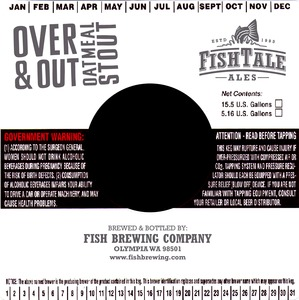 Fish Tale Ales Over & Out Oatmeal Stout