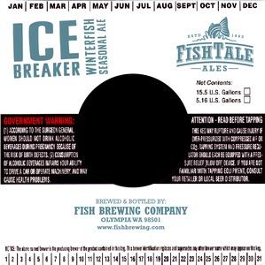 Fish Tale Ales Ice Breaker Winterfish Seasonal Ale