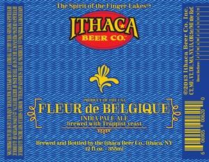 Ithaca Beer Company Fleur De Belgique
