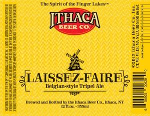Ithaca Beer Company Laissez Faire