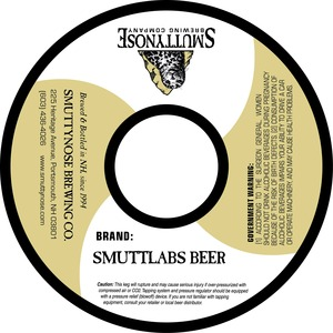 Smuttynose Brewing Co. Smuttlabs Beer
