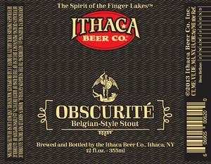 Ithaca Beer Company Obscurite
