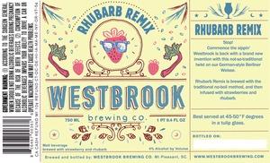 Westbrook Brewing Company Rhubarb Remix