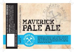 Klamath Basin Brewing Co. Maverick Pale